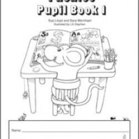 Jolly Phonics Pupil Book 1 (B & W)