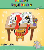 Jolly Phonics Pupil Book 3 (Colour In Precursive Letters)